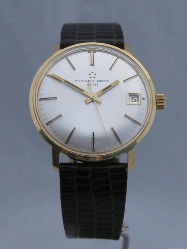 18k Gold Eterna-Matic 1000