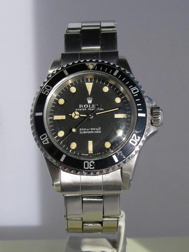 1967 Rolex Submariner 5513 meters first