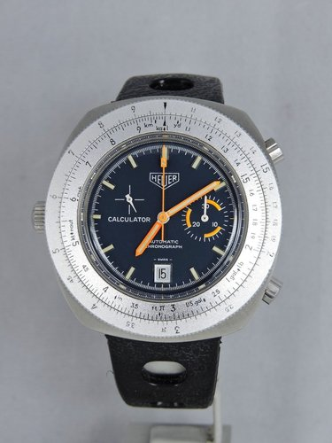 1971 Heuer Calculator Chronograph