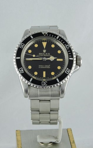 1966 Rolex Submariner Gilt Dial - Box & Papers