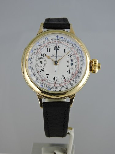 1920s 18k Longines Single-Button Chronograph cal. 13.33