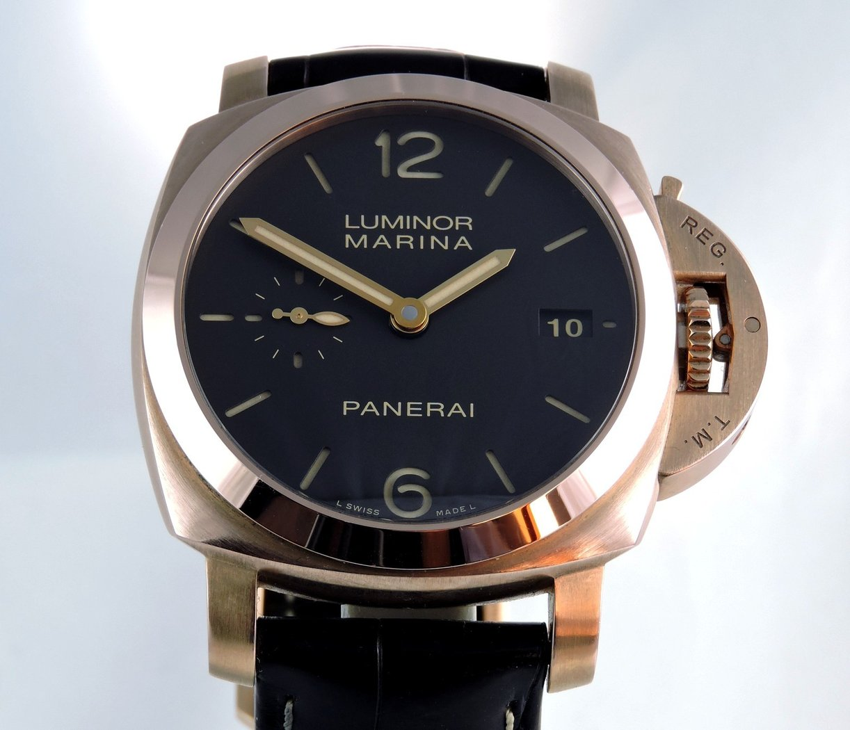 2013 panerai luminor marina 1950 18k vintage oyster. Black Bedroom Furniture Sets. Home Design Ideas