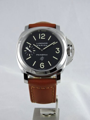 New Panerai Luminor Marina Logo Acciaio PAM1005