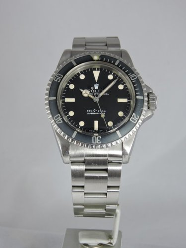 1971 Rolex Submariner 5513 - serviced