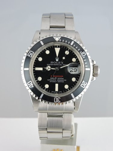 1970 Red Submariner 1680 MK IV - Box & Papers