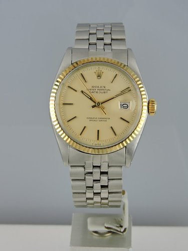 1972 Rolex Datejust 1601 18k/Steel - Box & Papers