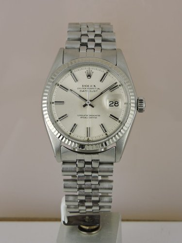 1973 Rolex Datejust 1601 - 18k/SS serviced