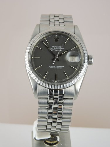 1971 Rolex Datejust 1603 Grey Dial - serviced