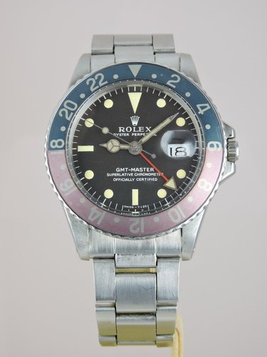 1970 Rolex GMT Master 1675 MKI - Box & Papers