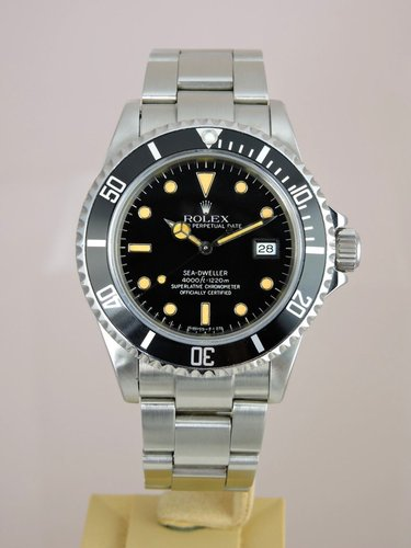 1983 Rolex Sea Dweller Triple Six - Box & Papers