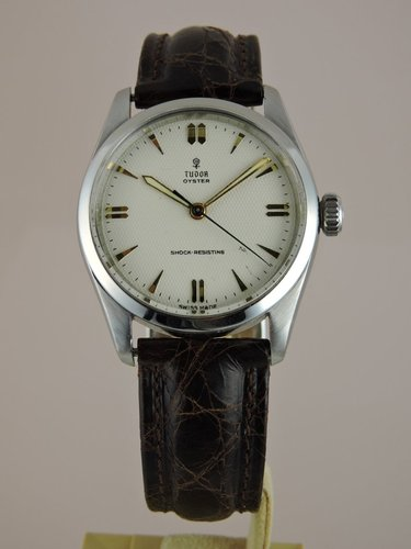 1956 Tudor Oyster Honeycomb Dial - Original Box & Papers
