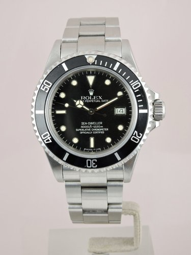 1985 Rolex Sea Dweller 16660 Triple Six Stardust