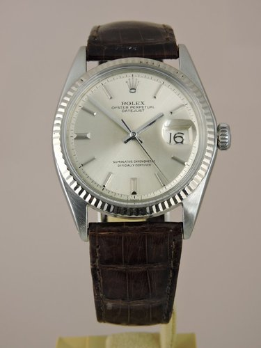 1970 Rolex Datejust 1601 18k/SS - Serviced