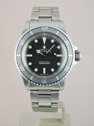1972 Rolex Submariner 5513 - Serviced